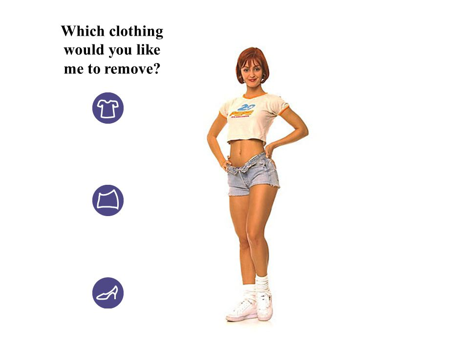 Which clothing would you like me to remove?