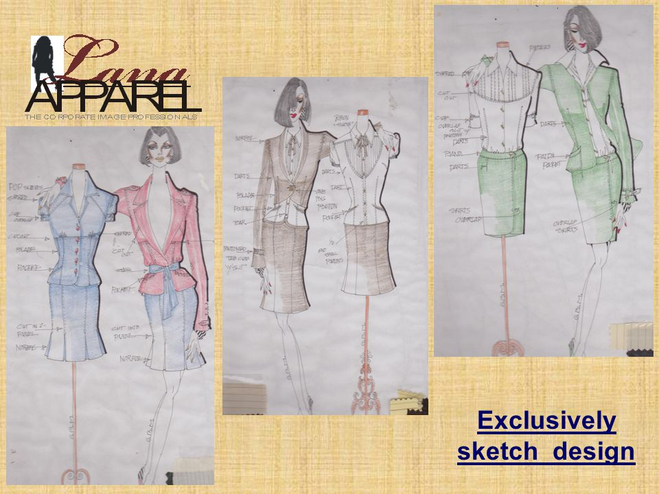 Exclusively sketch design