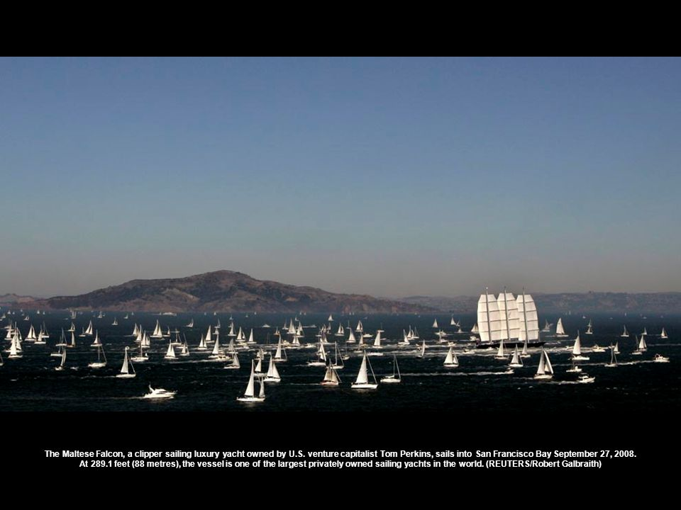 Classic yachts sail in the bay of Cannes, southeastern France, during the 30th Régates Royales of Cannes, Thursday, Sept.