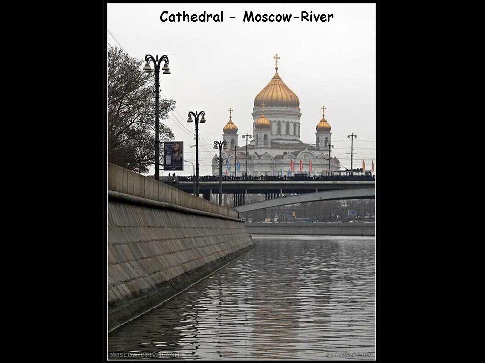 Cathedral - Moscow-River