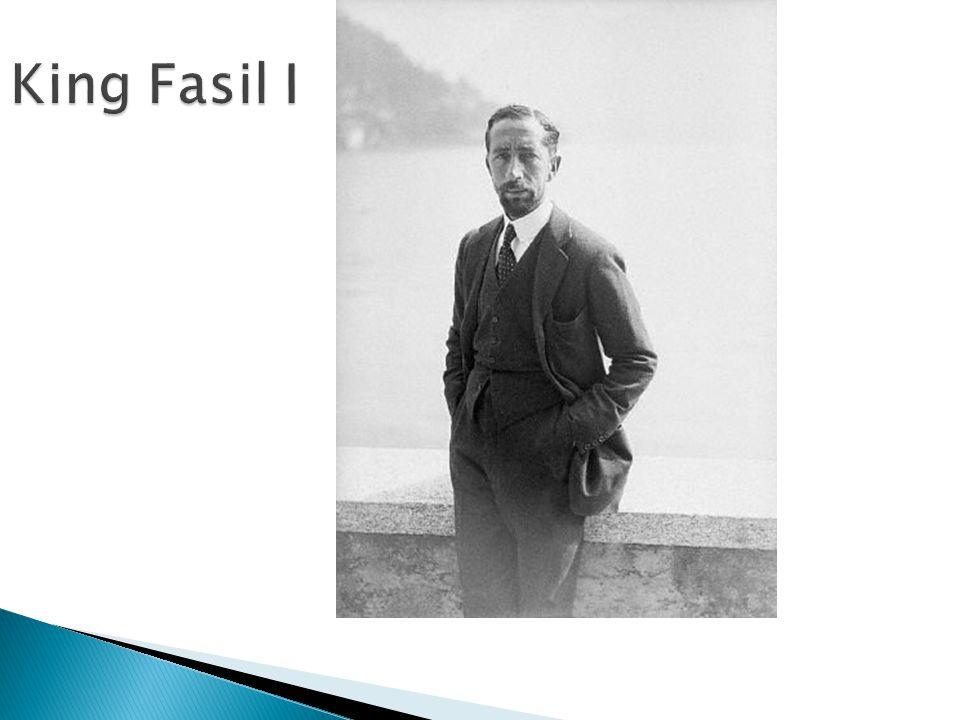 King Fasil I
