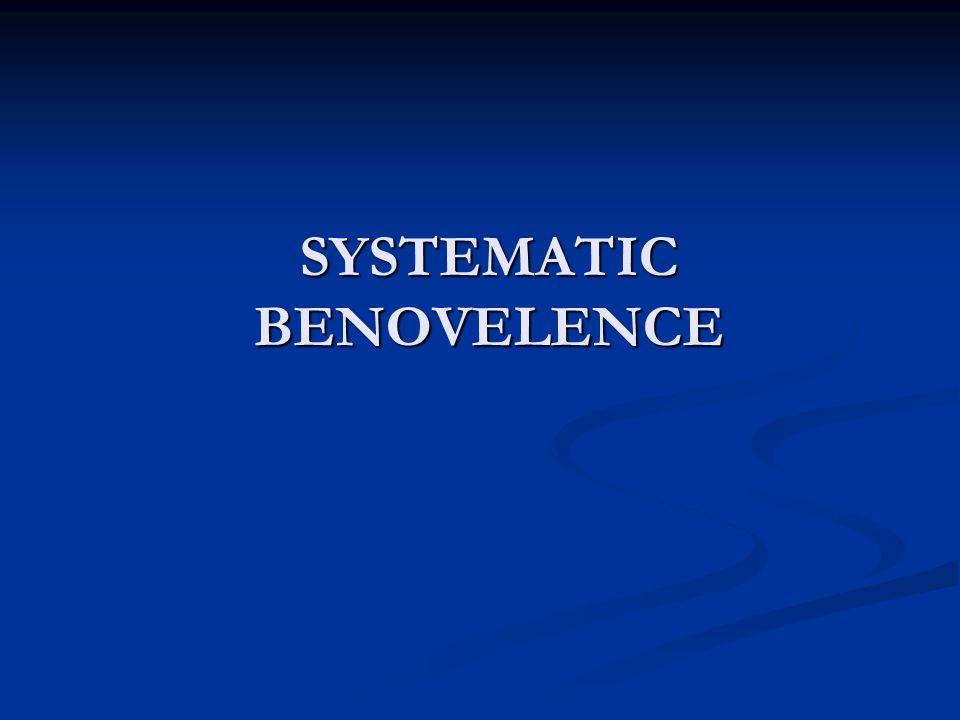 SYSTEMATIC BENOVELENCE