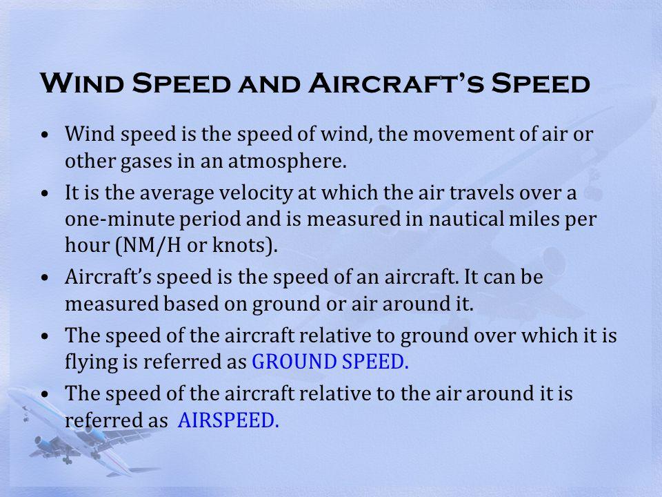 Effect of tailwind on ground speed