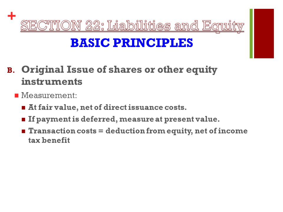 + BASIC PRINCIPLES B.