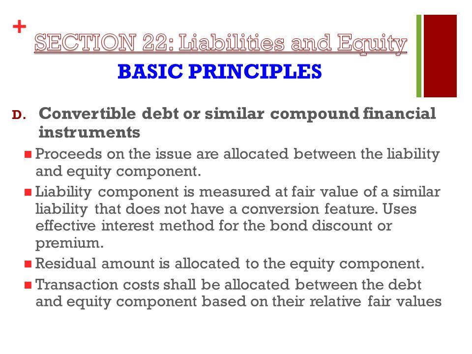 + BASIC PRINCIPLES D.