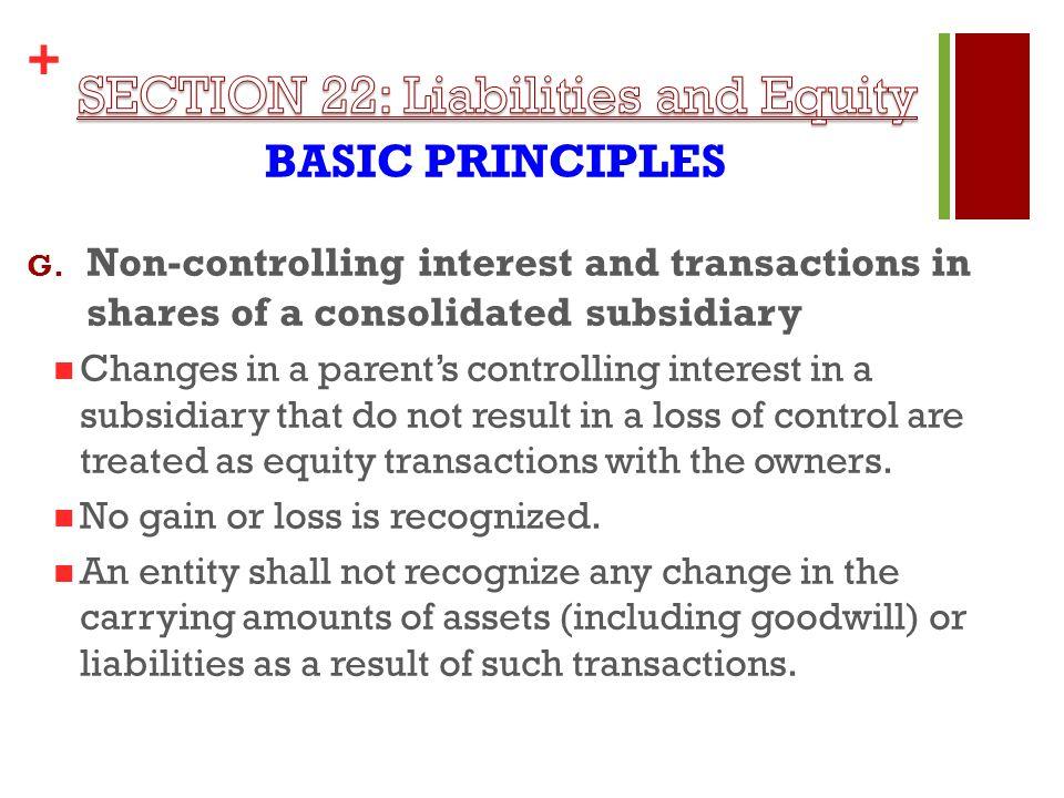 + BASIC PRINCIPLES G.