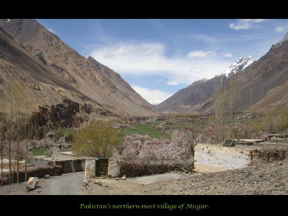 Pakistan's northern-most village of Misgar.