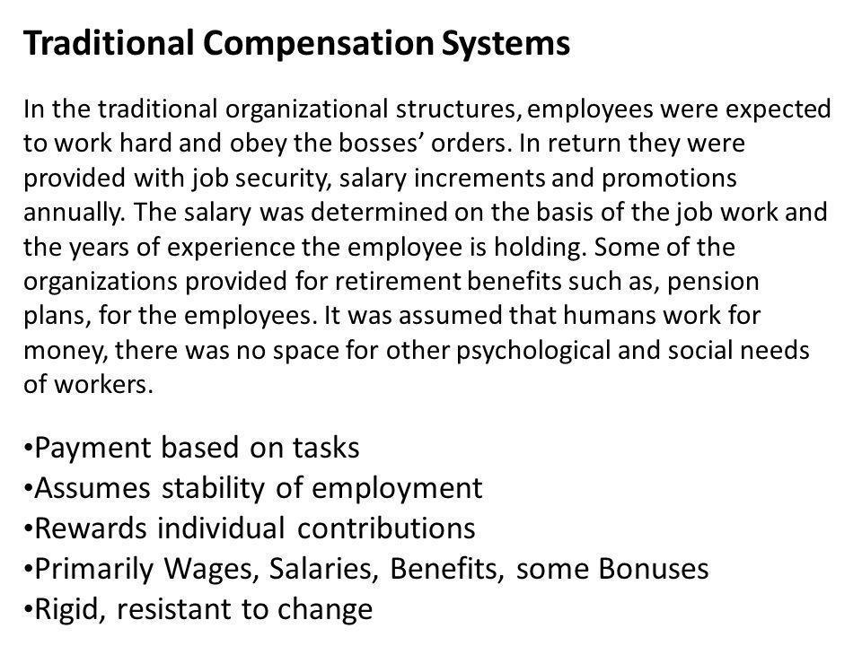 Job Evaluation vs.