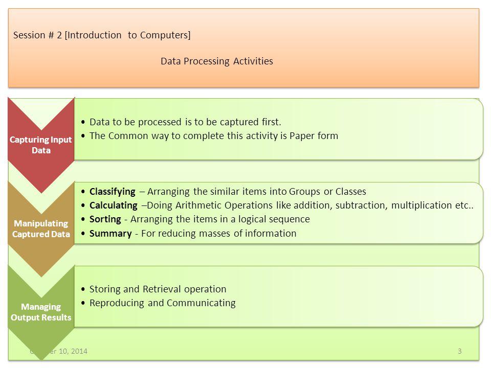 Session # 5 [Operators] Conditional Operator Conditional Operator [.