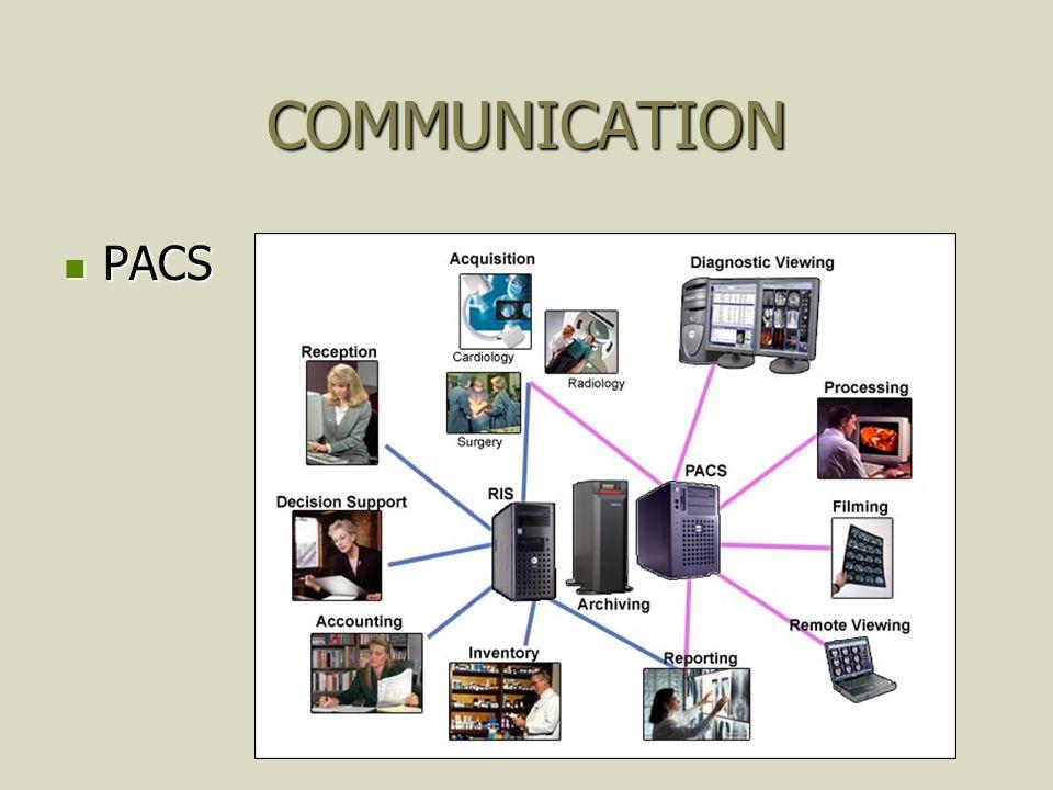 COMMUNICATION PACS PACS