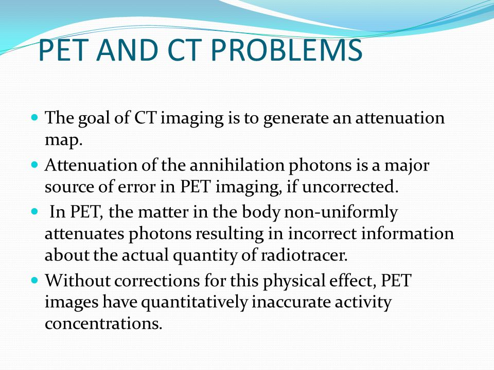 Contrast Medium Injection The use of intravenous contrast media during CT examination is essential to analyse solid organs, assess vessels and define tumor invasion for treatment planning and organ definition.