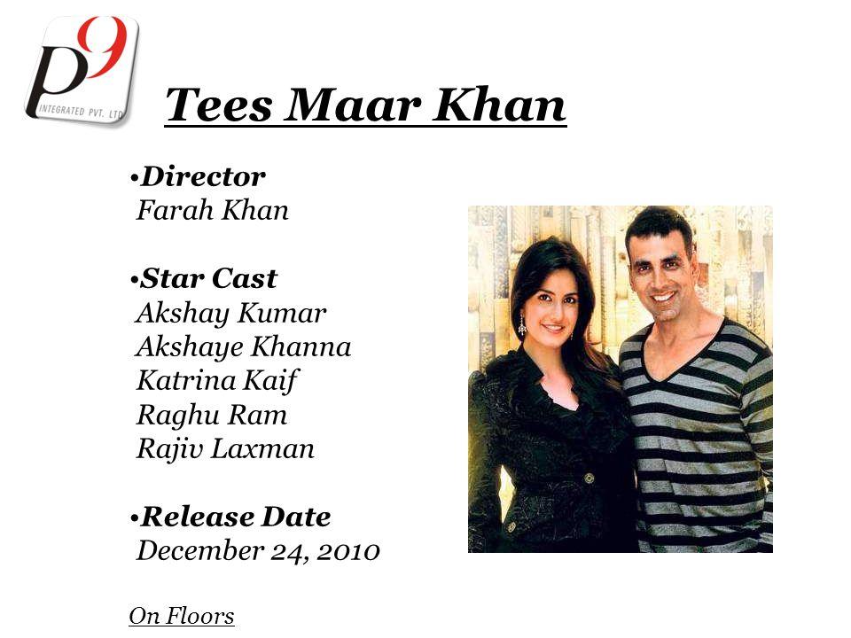 Tees Maar Khan Director Farah Khan Star Cast Akshay Kumar Akshaye Khanna Katrina Kaif Raghu Ram Rajiv Laxman Release Date December 24, 2010 On Floors