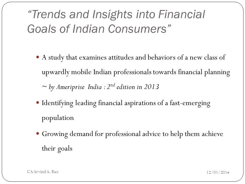 Key Findings 12/01/2014 CA Arvind A. Rao