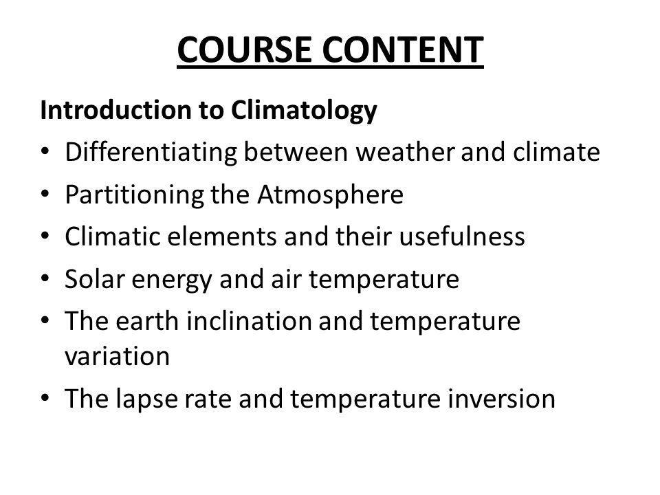 CHALLENGES IN THE ECONOMIC ASSESSMENT OF CLIMATE CHANGE IMPACTS ON AGRICULTURE Individual region or countries may have different characteristics, and these need to be represented adequately in terms of common economic relationship.