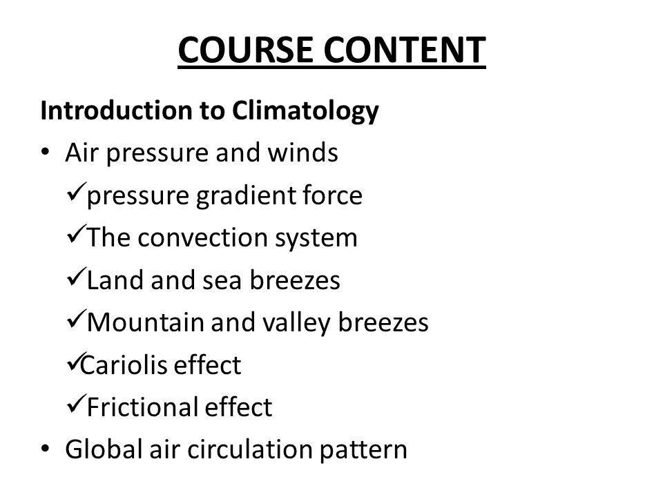 CHANGES IN SOIL MOISTURE AS A RESULT OF GLOBAL CLIMATE CHANGE Major emphasis is placed on elevated temperature which is the most important manifestation of the enhanced greenhouse effect in the tropics.