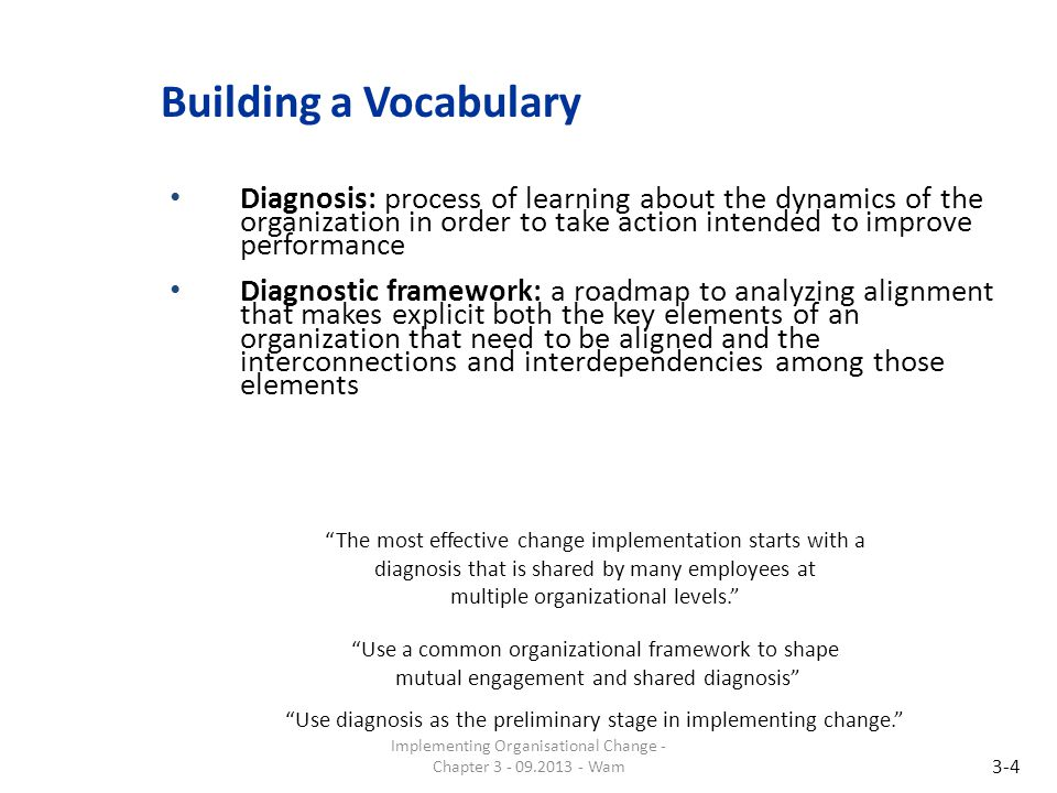 Building a Vocabulary Dialogue: involves a structured, collective discussion among two or more parties without a predetermined outcome Organizational silence: the lack of truthful dialogue in organizations 3-5 Don't mistake passive acceptance with agreement.