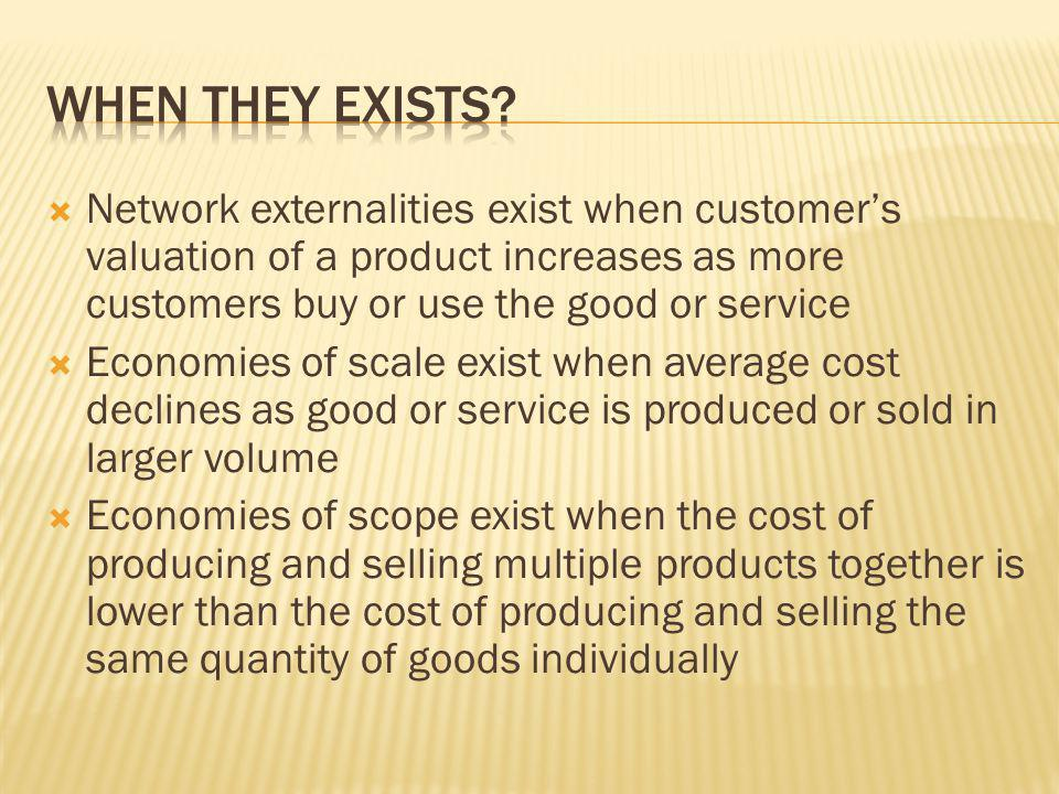  The size and scope of a firm is influenced not only by the scale economies of various activities, but also by the presence of the cost saving across functions or units  Economies of scope exist when it is less costly to combine two or more product lines in one firm than to produce them separately  Economies of scope may be occuring in activities that are not directly related to the physical production process, including research and development, sales marketing, distribution, transportation, and overhead.