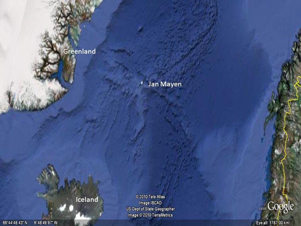 Jan Mayen Iceland Greenland