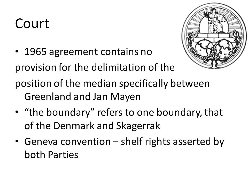 Court To decide, in accordance with International law and in light of the facts and arguments developed by the Parties, where the line of delimitation shall be drawn between Denmark and Norway fishery zones and continental shelf areas in the waters between Greenland and Jan Mayen, and to draw them.