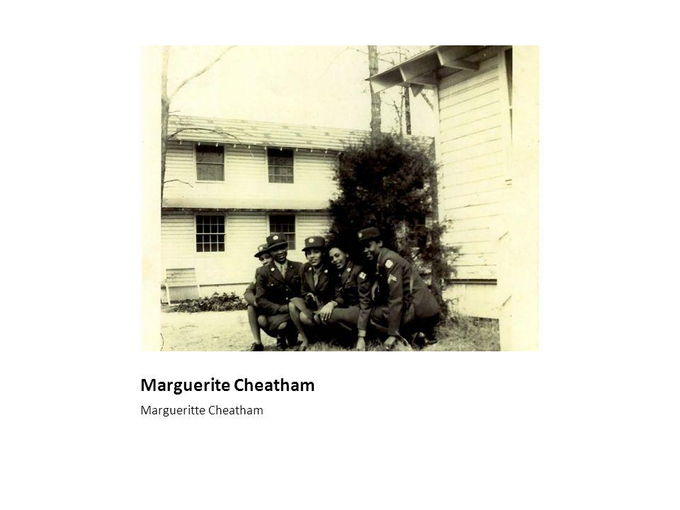 Marguerite Cheatham Margueritte Cheatham