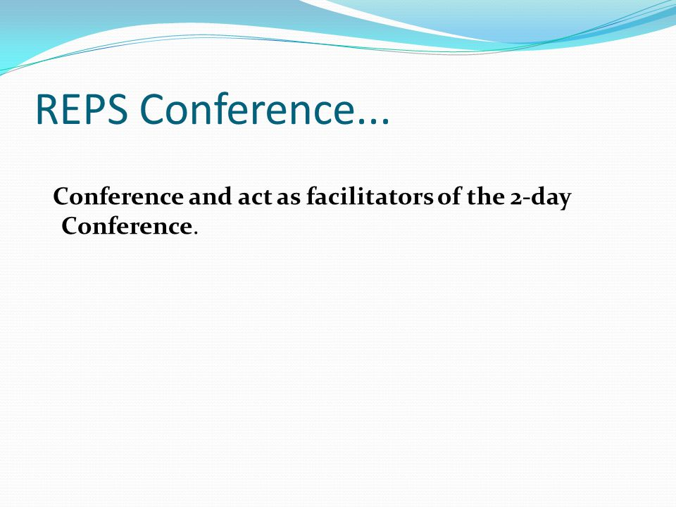 REPS Conference Career Path 1.