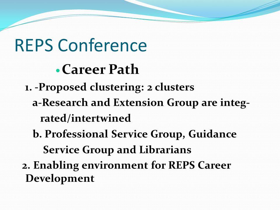 Career Path 3.Improvement of Salary Grade Level 4.
