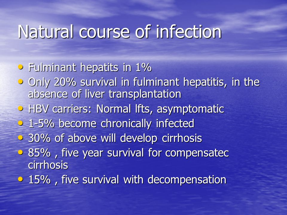 Duration of therapy HBeAg-positive patients who fail to lose HBeAg should be treated long-term because the chance of HBeAg seroconversion increases with time, and there is a high HBeAg-positive patients who fail to lose HBeAg should be treated long-term because the chance of HBeAg seroconversion increases with time, and there is a high risk of recurring viremia if therapy is stopped in the absence of HBeAg seroconversion