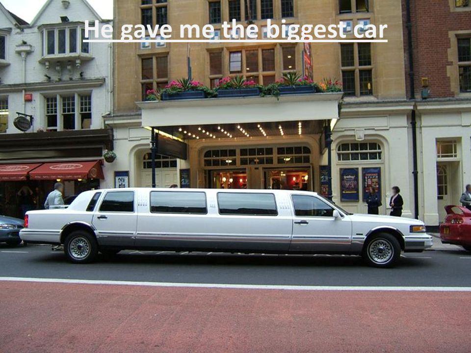 I asked for some transport