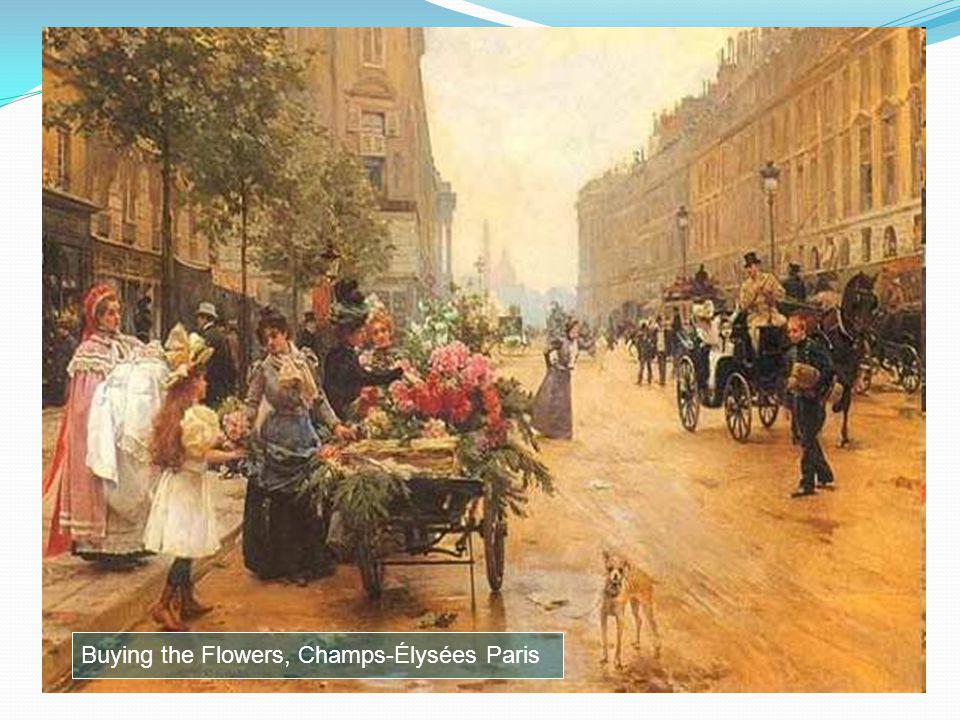 Une Marchande De Fruits et de Fleurs