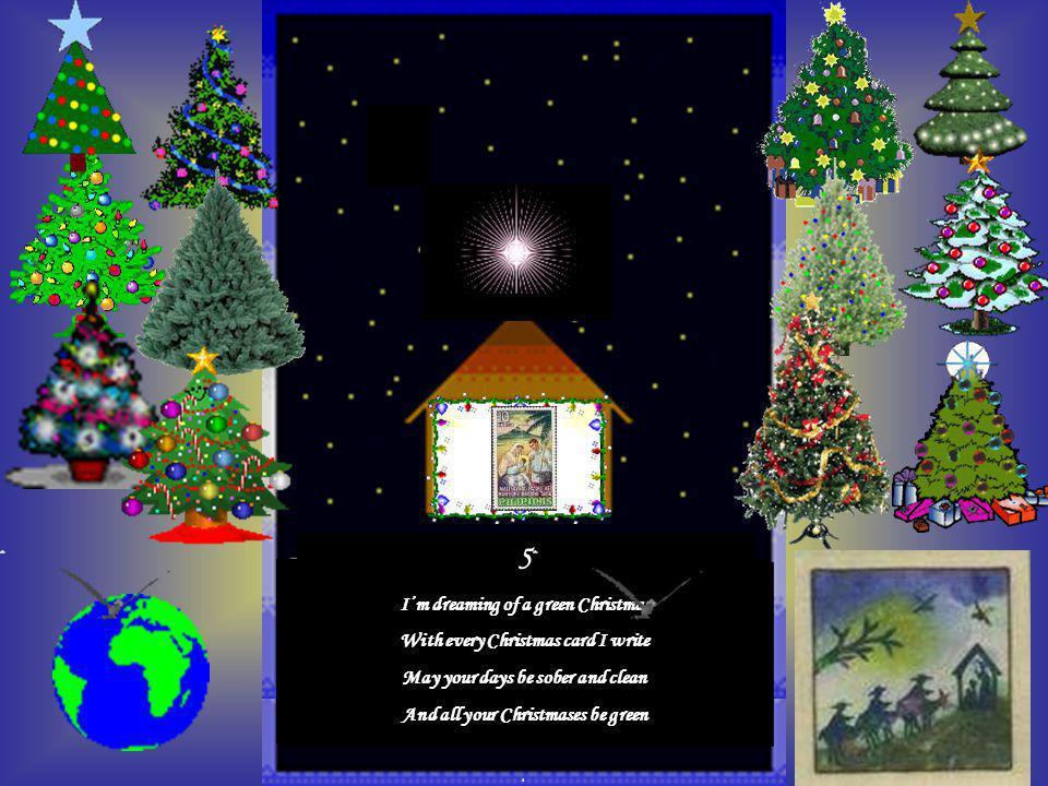 4 I'm dreaming of a green Christmas Mano po, Maligayang Pasko At Manigong Bagong Taon Twitter me in R.P.