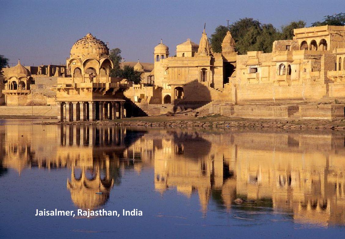 Gadi Sagar Temple, Jaisalmer, Rajasthan, India