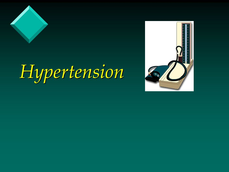 Conclusion v Hypertension is a very controllable disease, with drastic consequences if left uncontrolled.