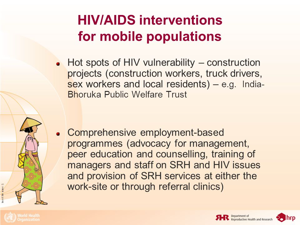 Insert file name 16 ICPD Programme of Action All countries are called upon to strive to make reproductive health accessible to all individuals of appropriate age MDGs 4 and 5 - Universal access to sexual and reproductive health Thank you
