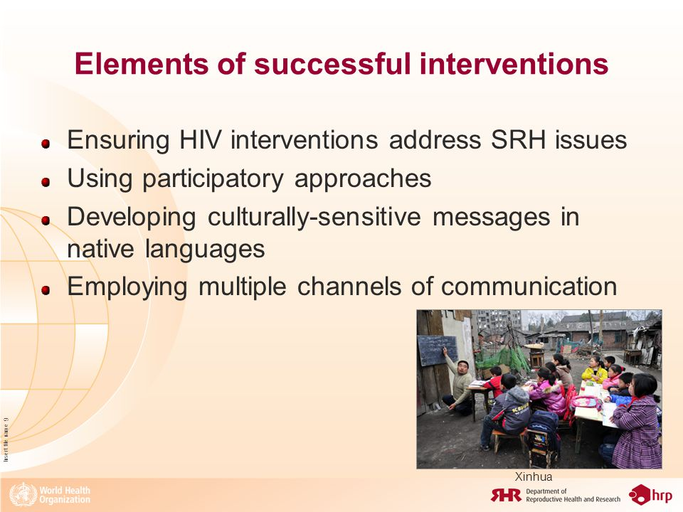 Insert file name 10 Gaps to be addressed Inaccurate perception of risk by migrants Providers lack of awareness regarding complex needs of migrants Exclusion from formal HIV sentinel surveillance systems Misconceptions related to HIV tests Denial of information and services to migrants in irregular situations Addressing financial barriers