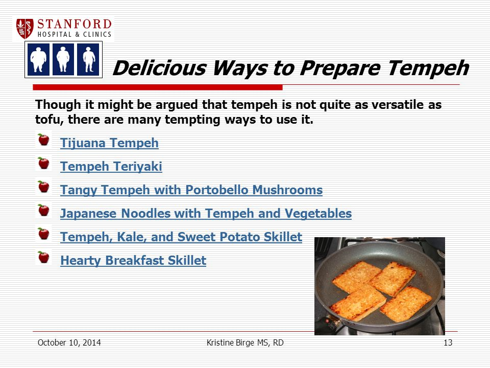Delicious Ways to Prepare Tempeh Though it might be argued that tempeh is not quite as versatile as tofu, there are many tempting ways to use it.