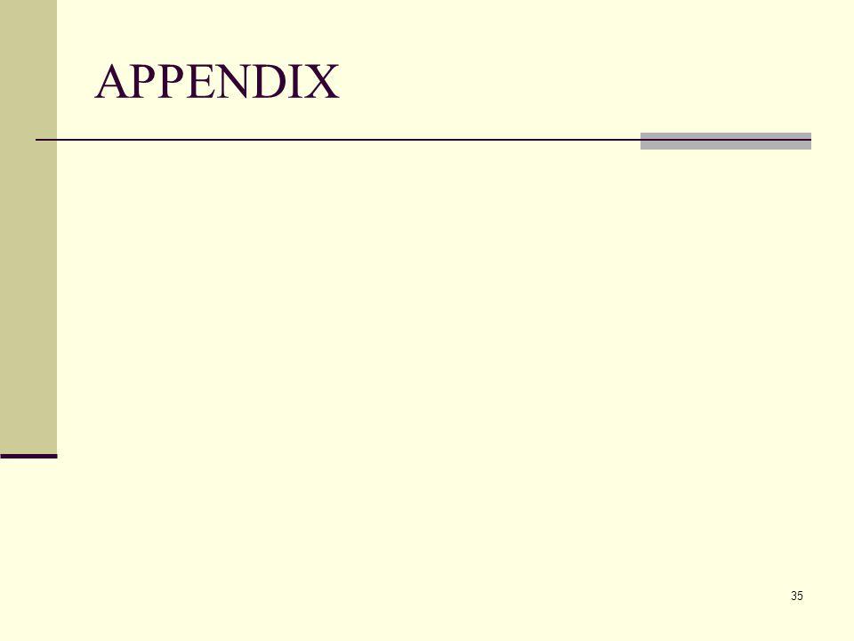 APPENDIX 35