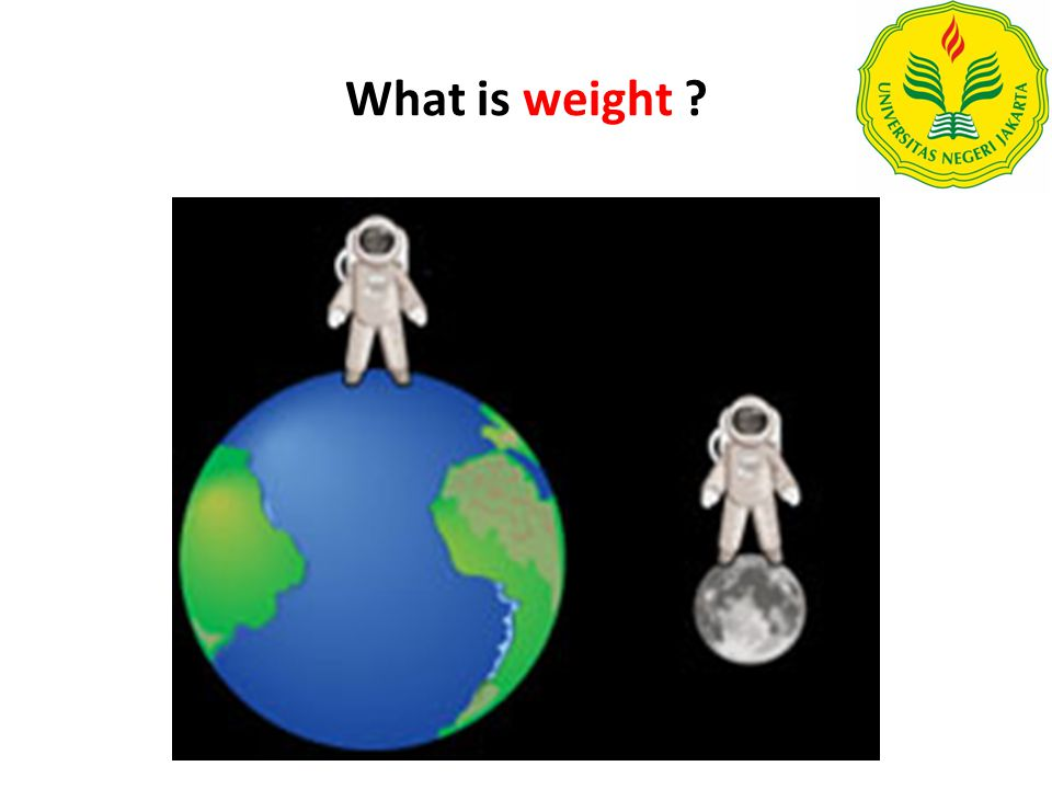 weight refers to the rate at which that amount of stuff is being accelerated towards the earth