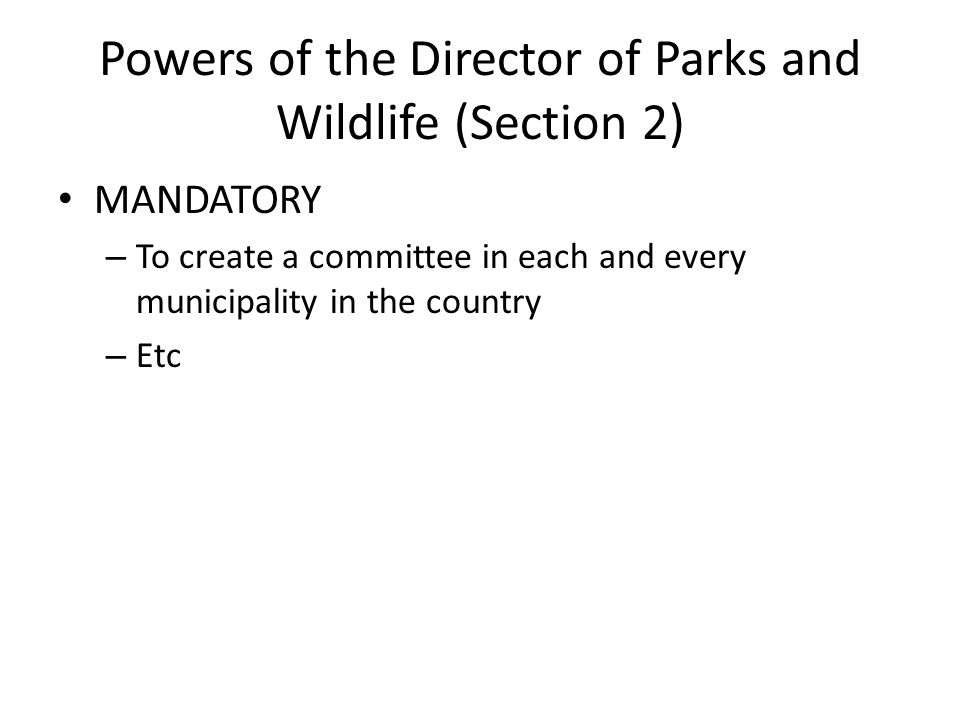 The Committee (Section 2) Composition ChairEx-officio members: