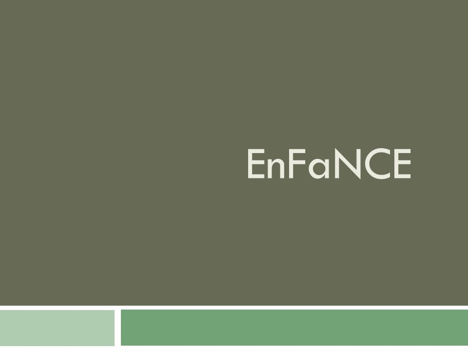Background of the Foundation  Encourage Families in Need and Care for Education (EnFaNCE Foundation Inc.)  Ceated with the support and funding of Inter Aide  Non-dole foundation that fights against poverty through self-empowerment  Based in Tondo (Baseco, Tempo, Dumpee)