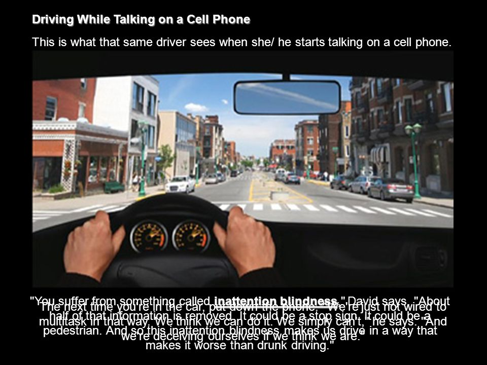 Researchers have a message for millions of people who text/ call while driving a car, Rollerblading, or even stepping off a curb: R_U_AN_ID10T?