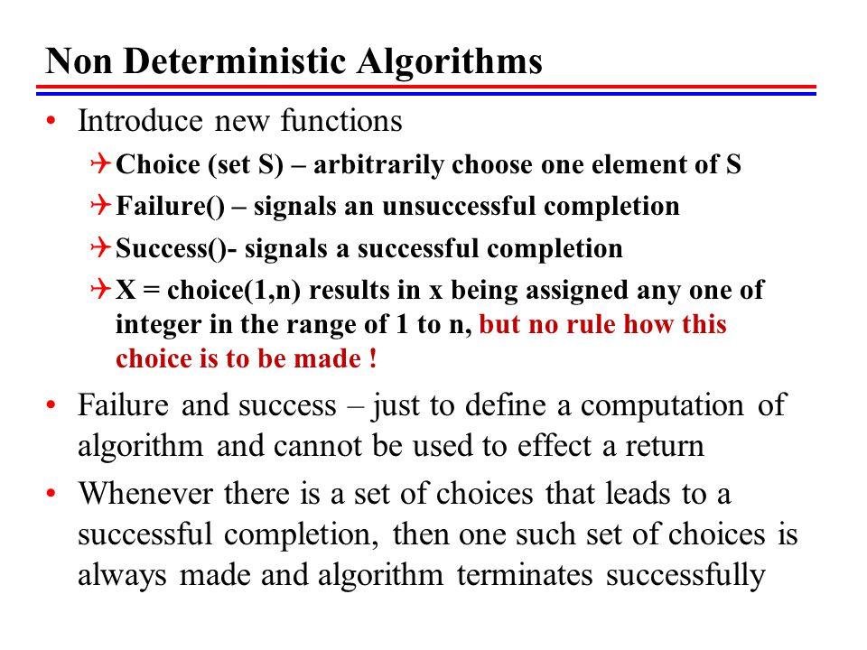 Maximal Clique – Decision Problem Let Dclique(G,k) be a deterministic decision algorithm for the Clique decision problem Size of max clique can be found by different values of k K = n, k= n-1, k= n-2,….