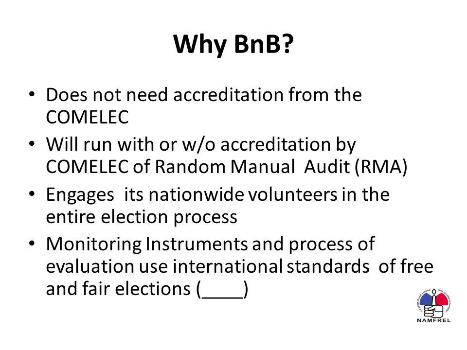Why BnB.