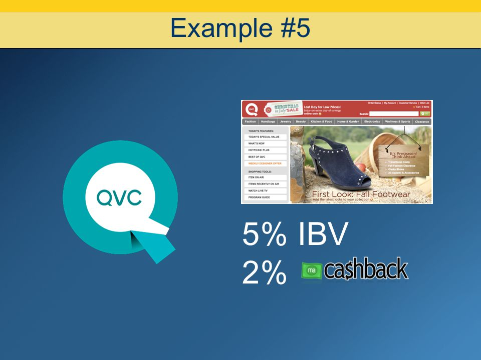 Example #5 5% IBV 2%