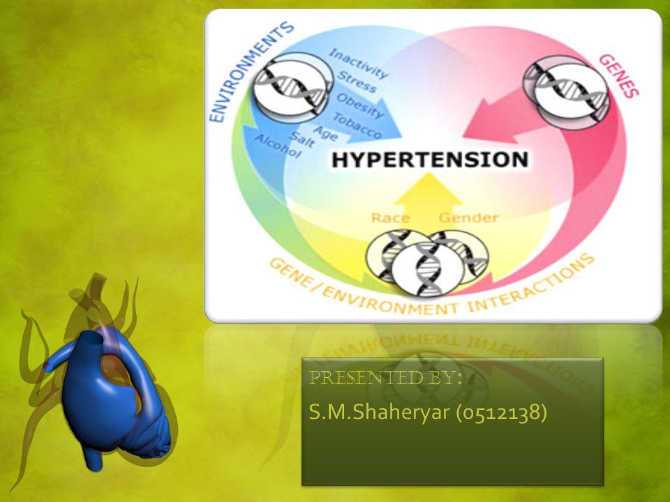 Hypertension: Hypertension is the medical term for high blood pressure.