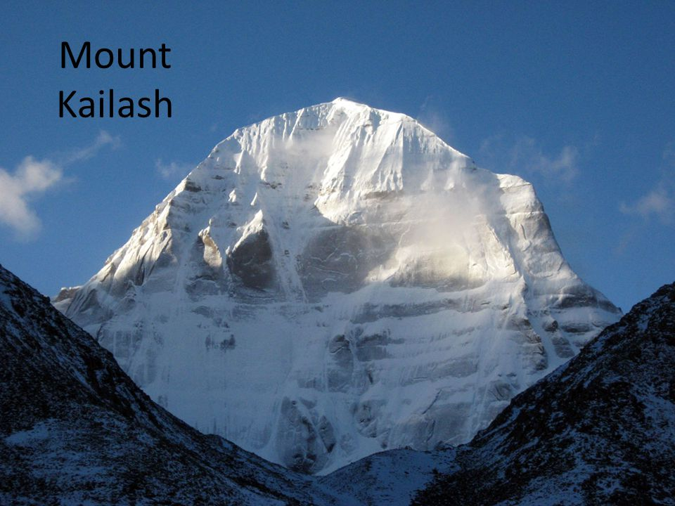  Mt.Kailash is not the only evidence that makes us feel the existence of GOD.