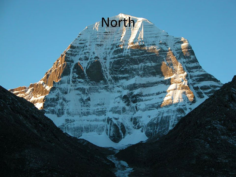 Mention of Mt. Kailash and it's centric view in holy books