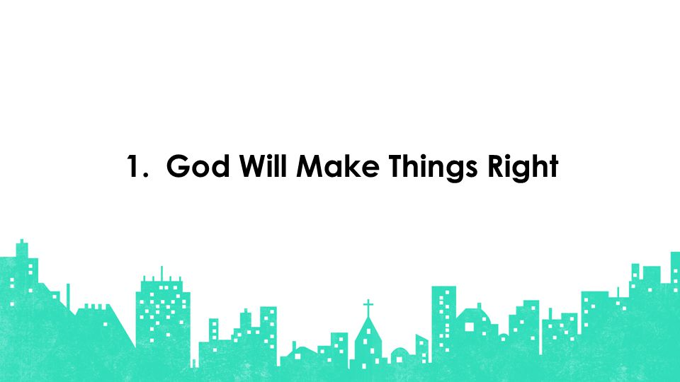 God Will Make Things Right1.