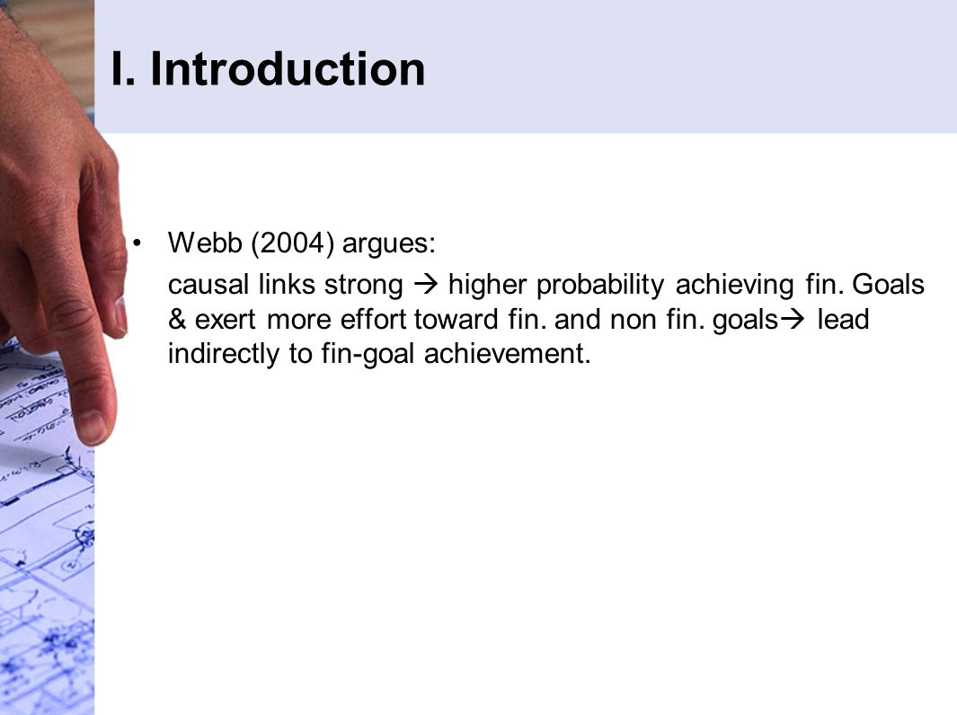 Three questions focused in discussion: 1.Why goal commitment higher when causal model stronger.