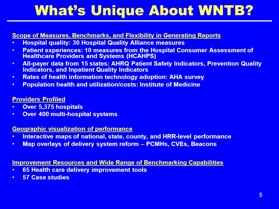 5 What's Unique About WNTB.