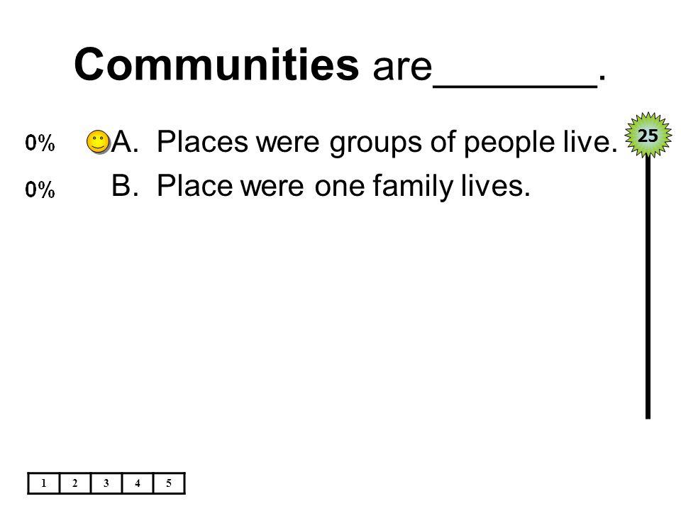 Ethnic origins are_____. 12345 A.Races B.Churches 25